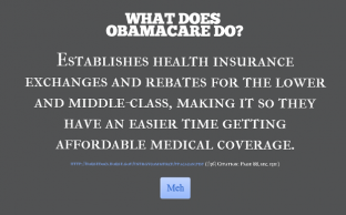 What Does Obamacare Do